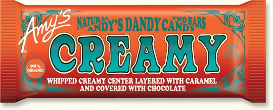 Amys Kitchen : Natural and Organic Foods : Creamy Candy Bar