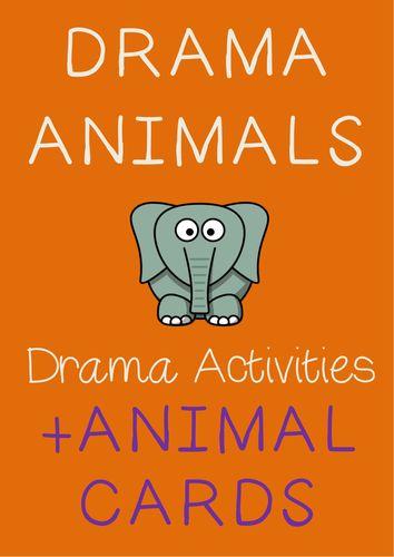 Role Play ANIMALS Drama + Drama Activities