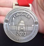 Cardiff Half Marathon medal 2013.
