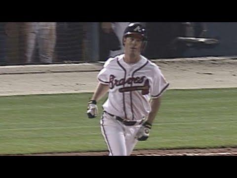 PHI@ATL: Greg Maddux hits a home run vs. Phillies - YouTube