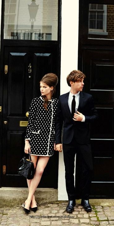 """More Modern Day Mod - """"Summer's Coolest Couple"""" - UK Glamour June 2013"""
