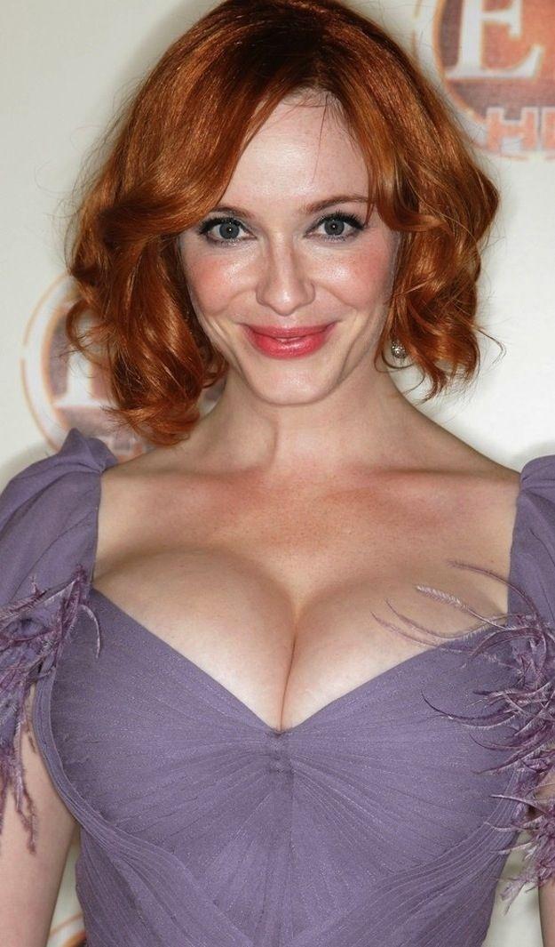 Christina hendricks a natural redhead
