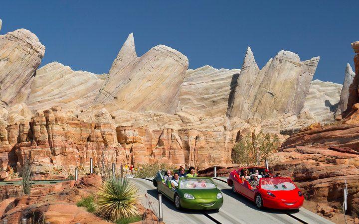 World's Most-Visited Tourist Attractions: Disney's California Adventure, Anaheim, CA