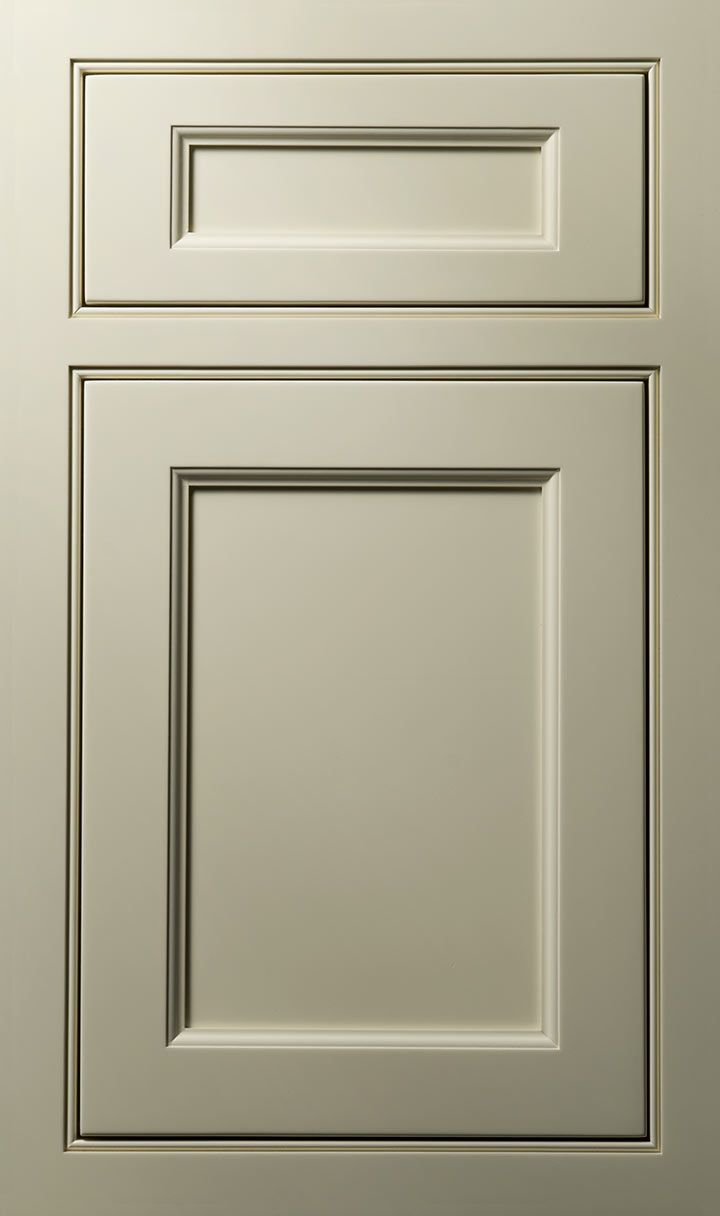 Doors and drawers adobe contemporary style flat panel cabinet door - Vogue Door Done In Maple Almond Chiffon Vogue Door White Kitchen Cabinet Door Stylescabinet
