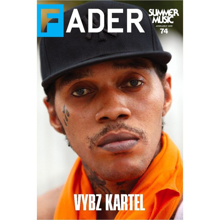 """Vybz Kartel / The FADER Issue 74 Cover 20"""" x 30"""" Poster - The FADER"""
