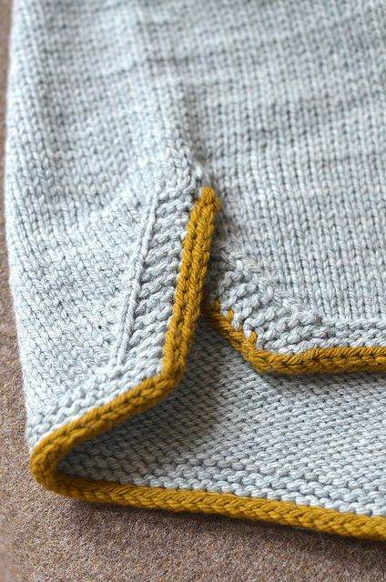 Ravelry: Sports pattern by Stephen West ~ :-) Stephen has created shorts here but I rather like this detail for a sleeve!!