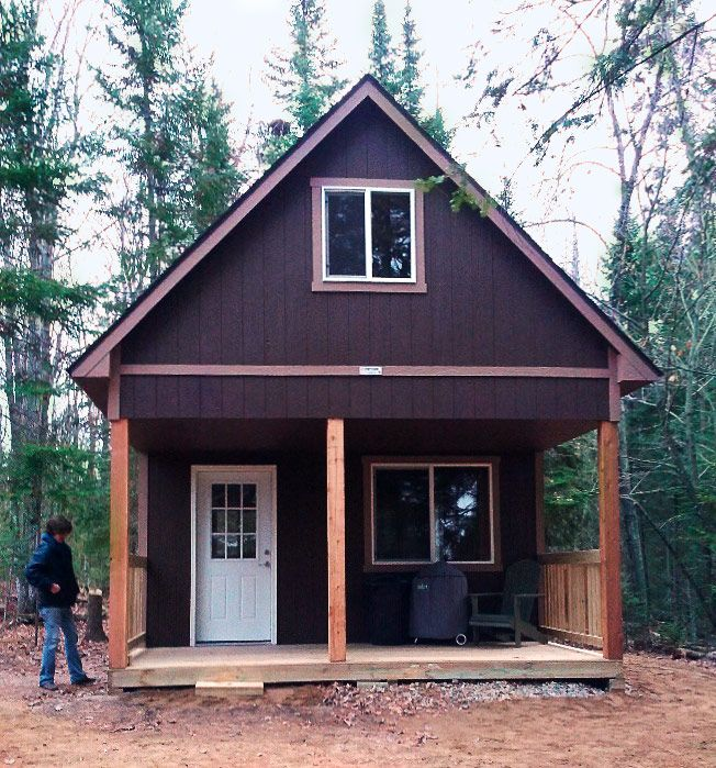 Artist Studio Overlooks Guest Cabin With Rooftop Garden: 25+ Best Ideas About Shed Cabin On Pinterest