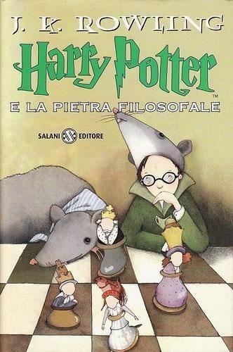 Harry Potter e la pietra filosofale - #copertinedaincanto Valentina Gardenghi
