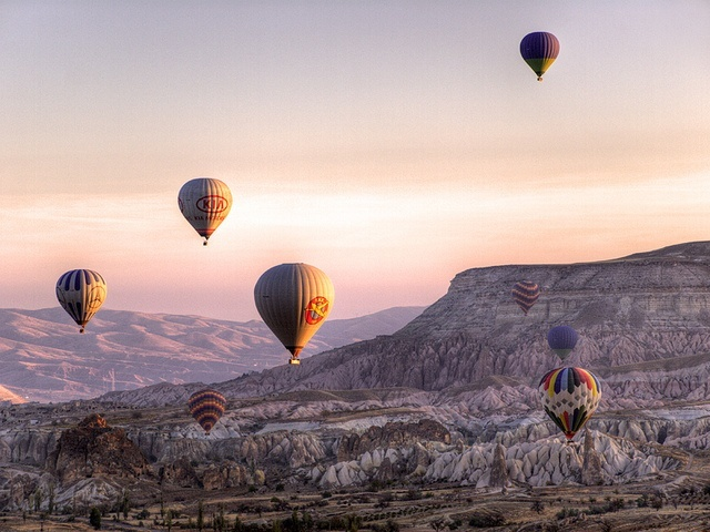 Cappadocia Dawn by Julian Kaesler