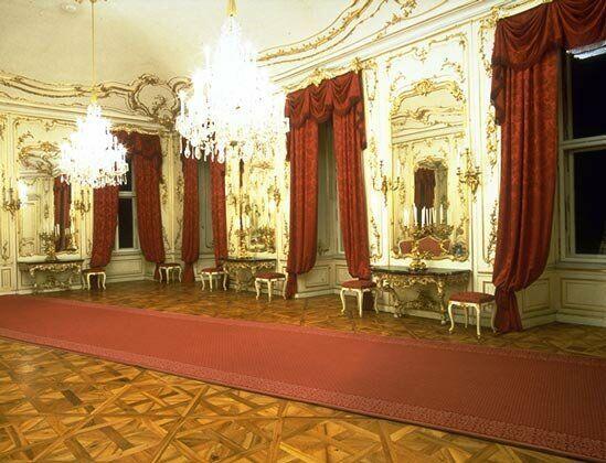 Schonburnn palace interior sch nbrunn palace vienna for Sala 976 latin palace