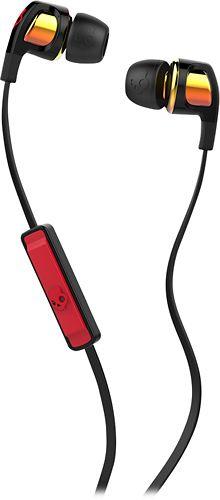 Skullcandy - Smokin' Buds 2 Earbud Headphones - Black/Red/Orange