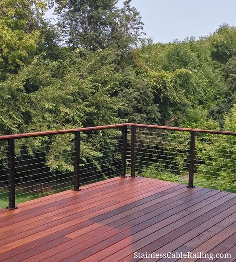 Deck Upgrade Ideas: 17 Best Ideas About Cable Deck Railing On Pinterest