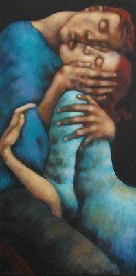 painting Nicoletta Tomas Caravia