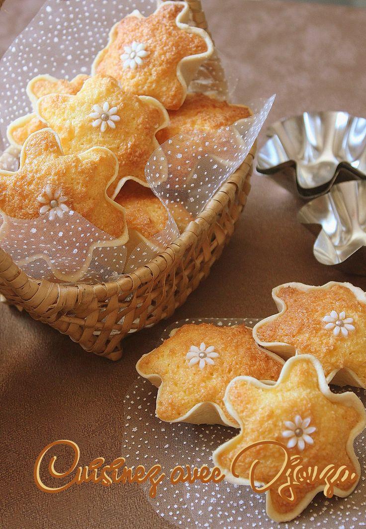 Recette des knidlettes à la noix de coco, un gâteau algérien habituellement aux amandes que j'ai remplacé par la noix de coco. Toujours avec le citron,son