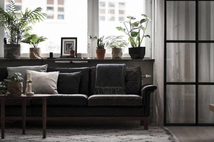 Apartamento de 44 metros² con decoración en blanco y negro 12
