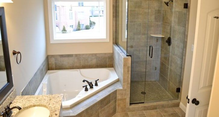 Small Bathroom Ideas With Whirlpool Tub Bathroom Floor Plans Bathroom Remodel Master Small Master Bathroom