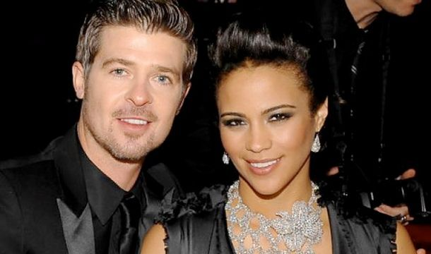 Robin Thicke and Paula Patton (wife) Hot Together