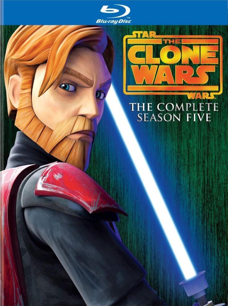 Star wars : the clone wars saison 5 en dvd/blu-ray