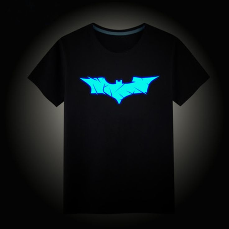 Anak Laki-laki T-shirt 100% Katun Musim Panas Anak Tops Anak Hip Hop Neon Cetak Party Club Malam Cahaya Punk Top Tee Untuk Remaja
