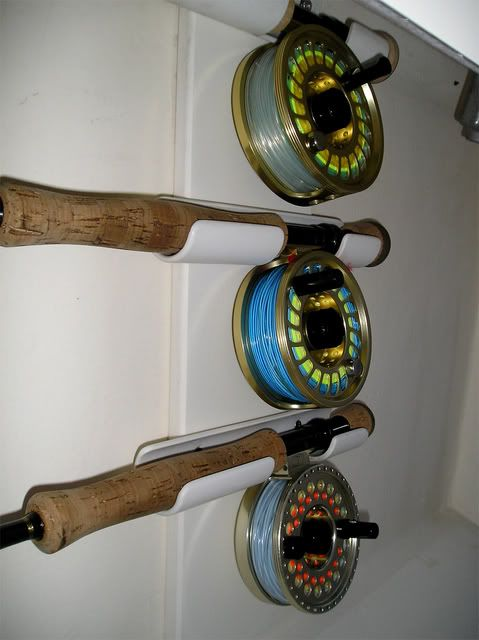 Diy under gunnel rod holders gheenoe re do pinterest for Fly fishing rod holder