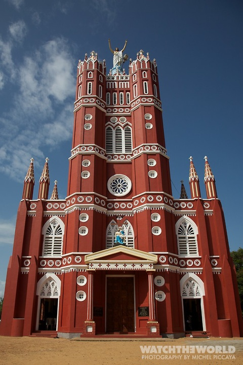 Church in Trivandrum, India.