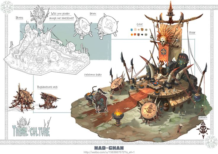 ArtStation - Tribal-culture, Mad Chan