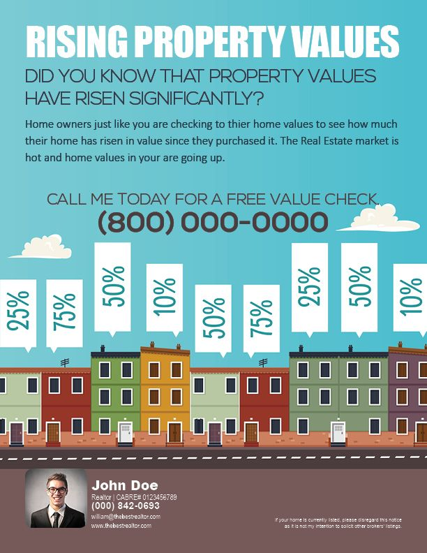 Real Estate Resume%0A A flyer to help create awareness of rising property values