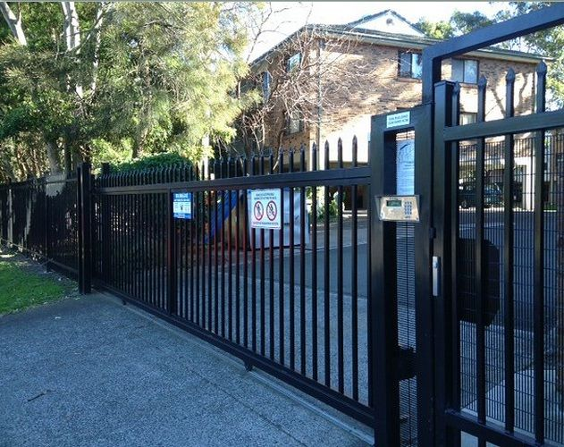 54 best automatic gate opener images on pinterest for Best electric gate motors