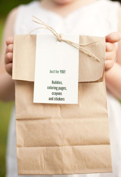 perfect for the wedding day with little ones!