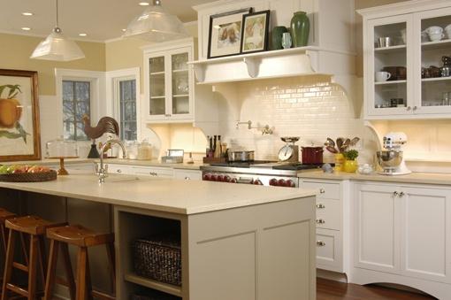 Kitchen Shelves White Pinterest