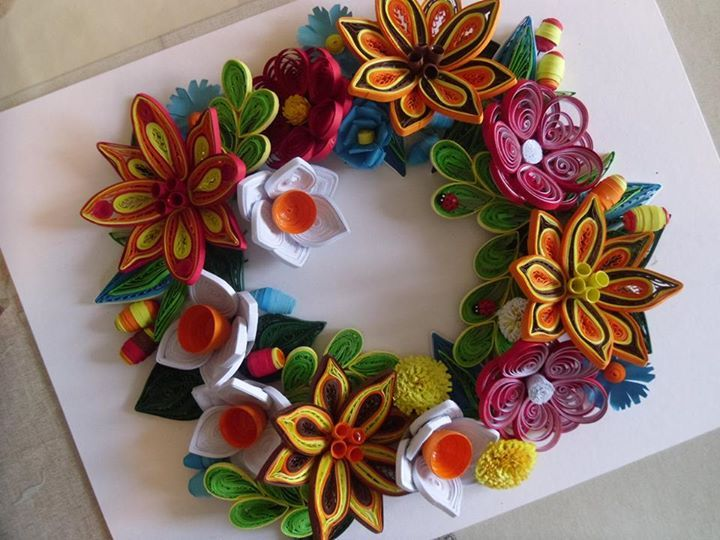 Paper quilling flowers patterns 18 best quilled flower bouquets free paper quilling flowers patterns mightylinksfo
