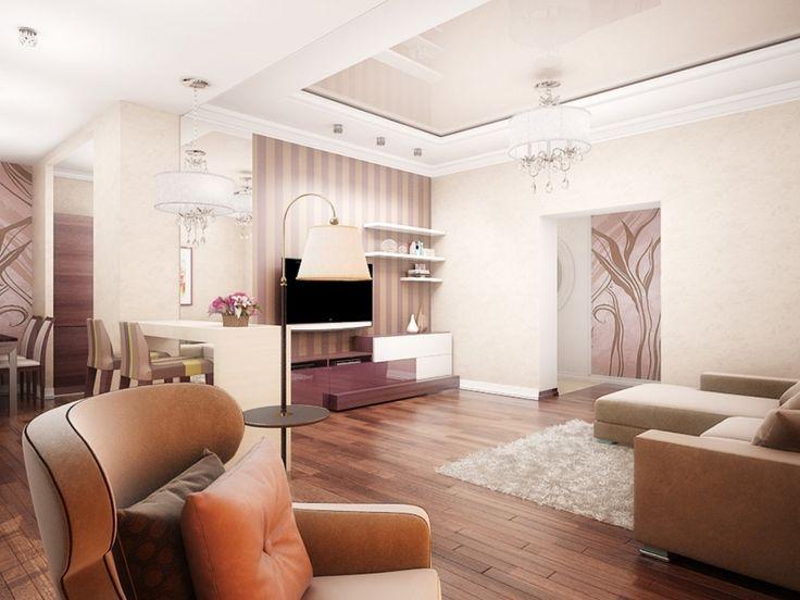Интерьер зала. 50 идей - Сундук идей для вашего дома - интерьеры, дома, дизайнерские вещи для дома