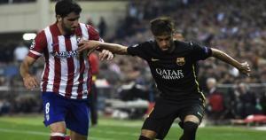 Koke marcó el primero del partido. Atletico Madrid gano 1 a 0