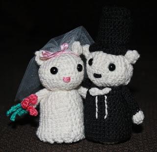 #Crochet #Wedding #Bridalcouple #Amigurumi