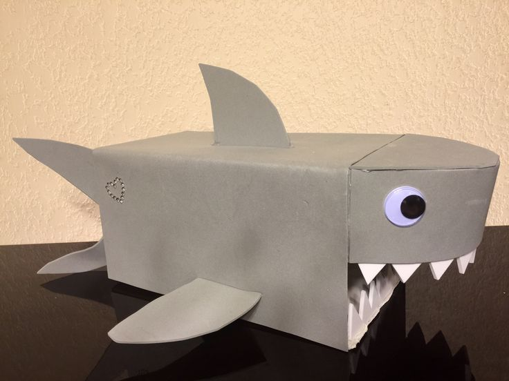 Shark Valentine Box- Kristen's Version