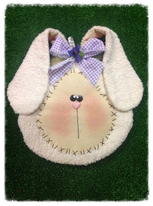 Costura criativa kit - ovelhas e coelhos: Kit potholder e coelho botão