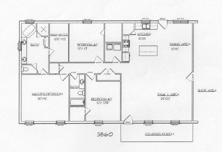 Metal Shop House Plans Design #5 Metal Building Floor Plans By Kelley Cooper