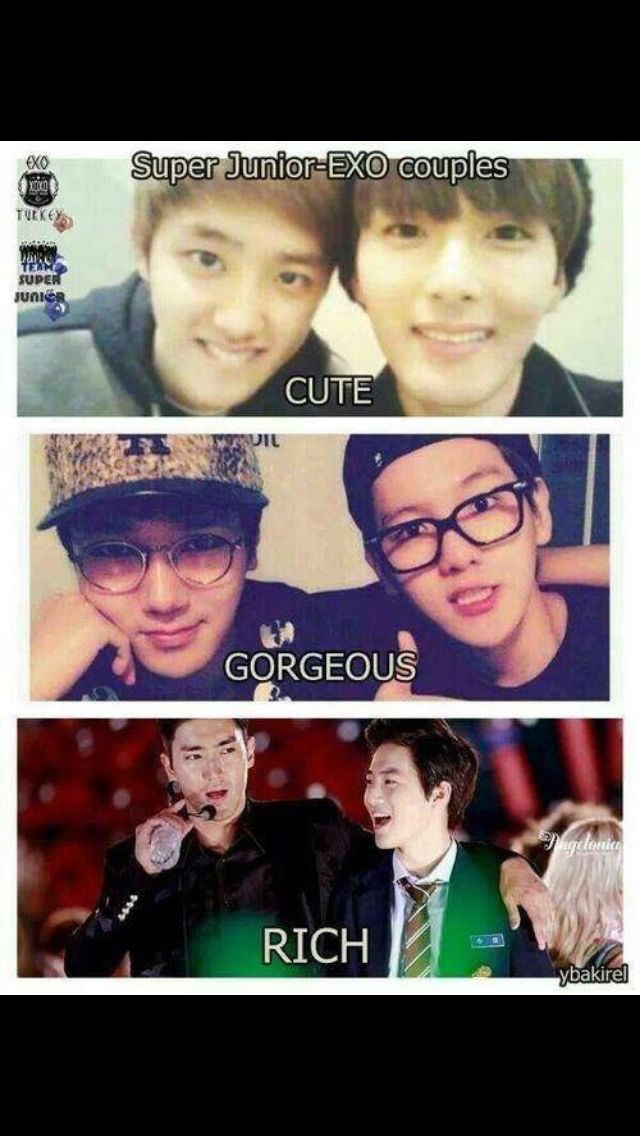 SUJU and EXO couples