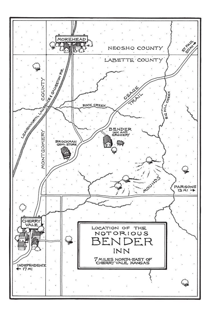 bloody benders   Treasury of Victorian Murder Vol. 9: The Bloody Benders - Comics by ...