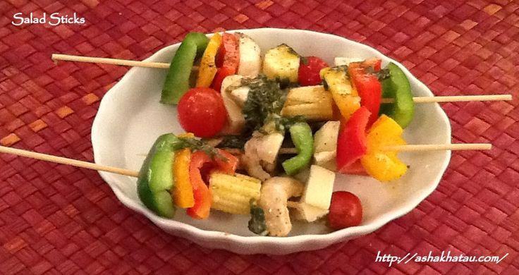 Salad Sticks #Epicure #AshaKhatau #Starters #Salads