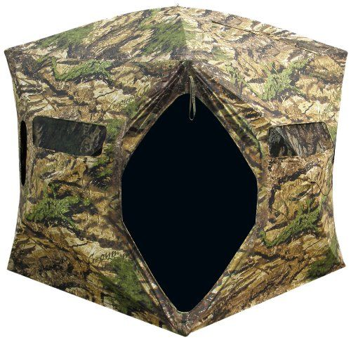 Primos Hunting Double Bull Double Wide Easy Entry Premium Hunting Ground Blind - OMJ Outdoors
