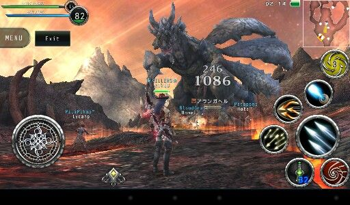 Avabel # Last Quest f21 # day 4, last day we saw this Kaijuu # hdk88