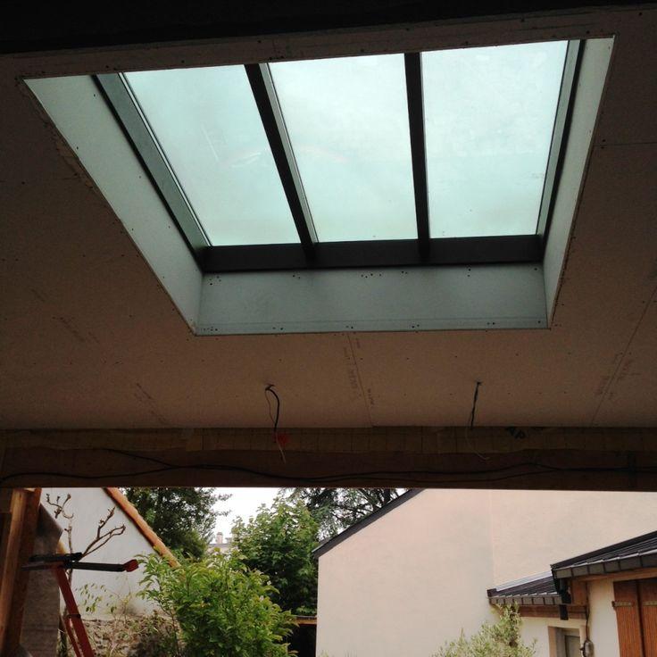 Verriere 32mm toiture zinc
