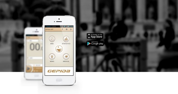 Use your smart phone on your bike as a multi functional cycling computer via downloading the free Gepida application. Make your ride more enjoyable, track your route and performance in real time and analyze your results to get healthier.
