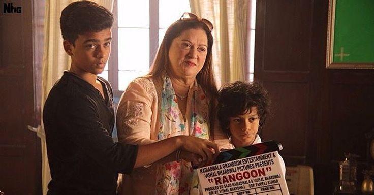 Light, Camera, Action!#RangoonBegins  #SajidNadiadwala #VishalBhardwaj @wardanadiadwala @shahidkapoor #Kangana #SaifAliKhan