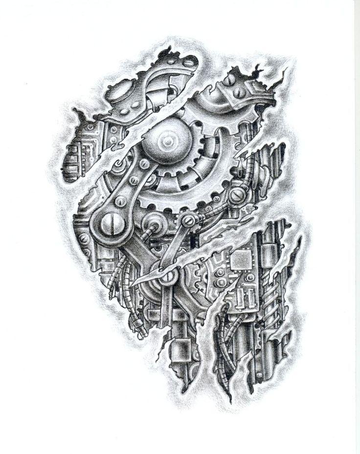 best 25 biomechanical tattoo ideas on pinterest. Black Bedroom Furniture Sets. Home Design Ideas