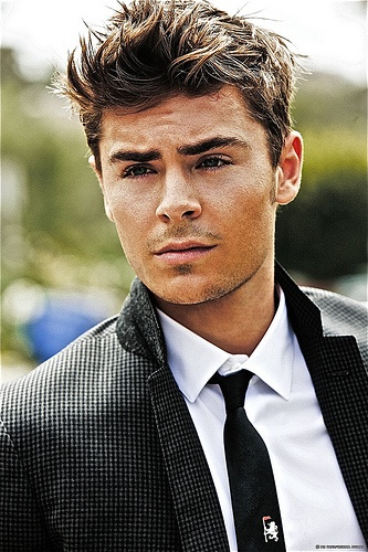 Zac Efron- I have always and will always love this boy... From Miracle Run to Summerland to HSM, Hairspray, and now New Year's Eve... <3