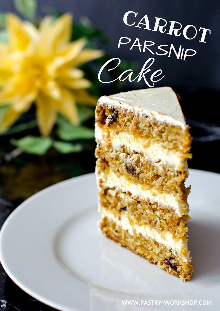 Carrot Parsnip Cake - moist and fragrant!