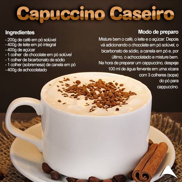 Capuccino caseiro, i love it!