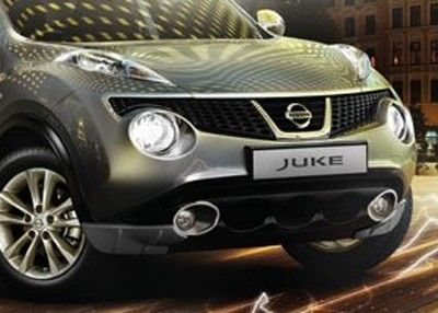 Nissan Juke Front Corner Skirts - KE6101KA10
